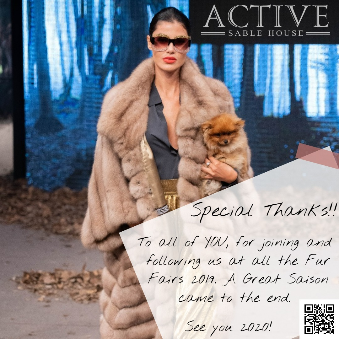 hank you for visitig us at the Fur Fairs 2019